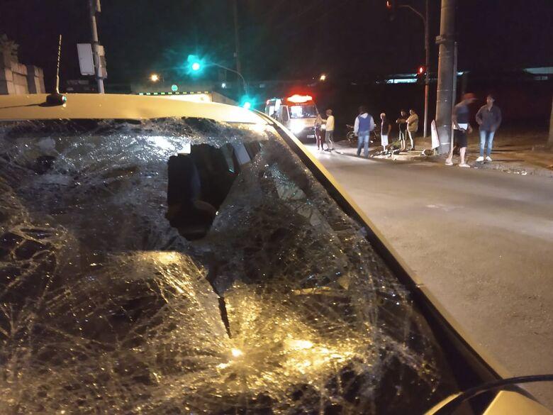Ciclista fica gravemente ferido após ser atropelado por carro na WL - Crédito: Luciano Lopes