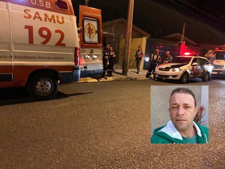 Homem é morto a facadas em Araraquara - Crédito: Araraquara 24 Horas