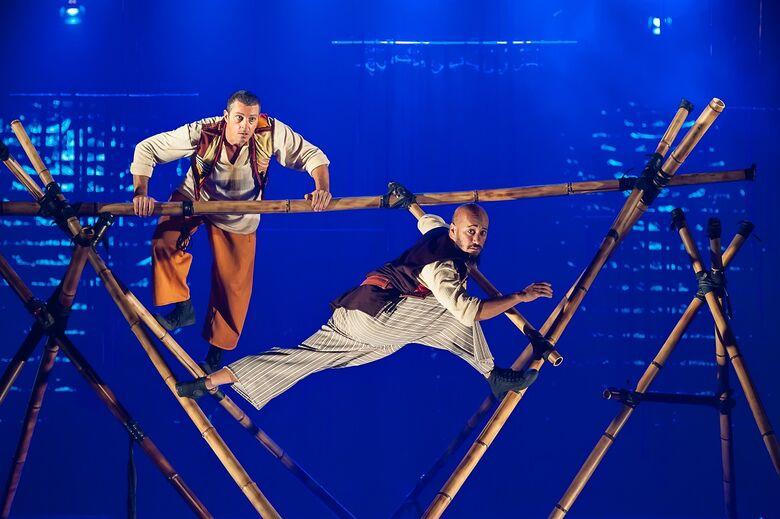 Espetáculo de Circo Simbad, o Navegante é atração no Sesc São Carlos - Crédito: Paulo Barbuto