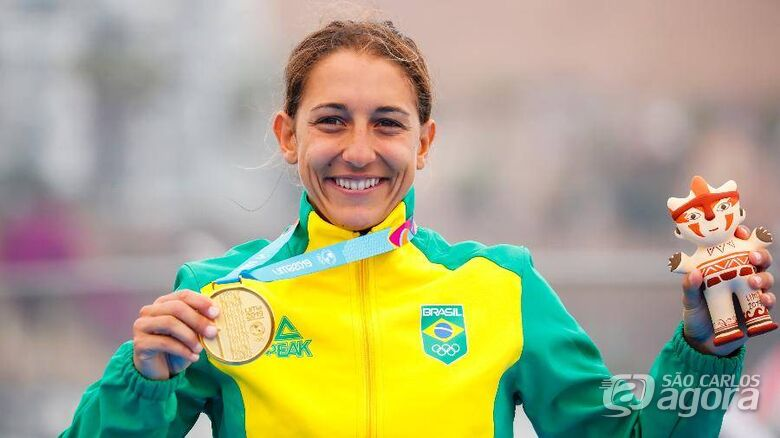 Atleta do Sesi São Carlos conquista primeiro ouro para o Brasil no Pan-Americano - Crédito: Divulgação