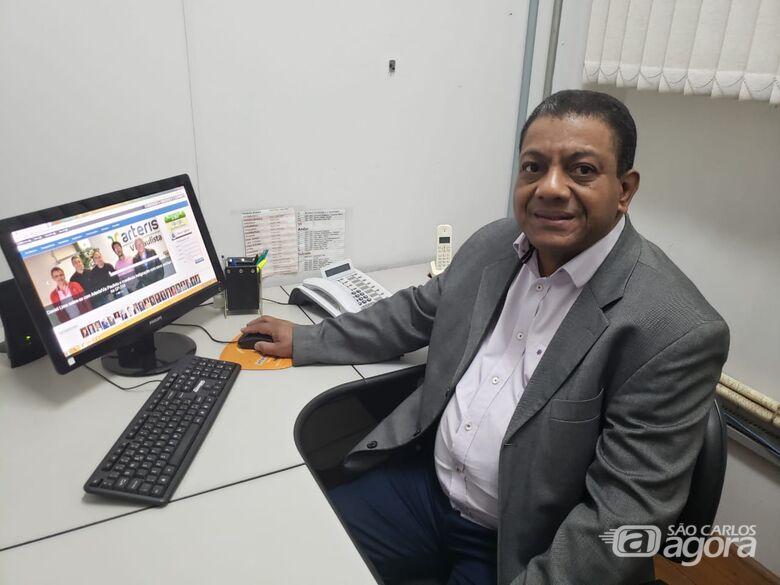 Ditinho assume cargo de vereador como suplente no lugar de João Muller - Crédito: SCA
