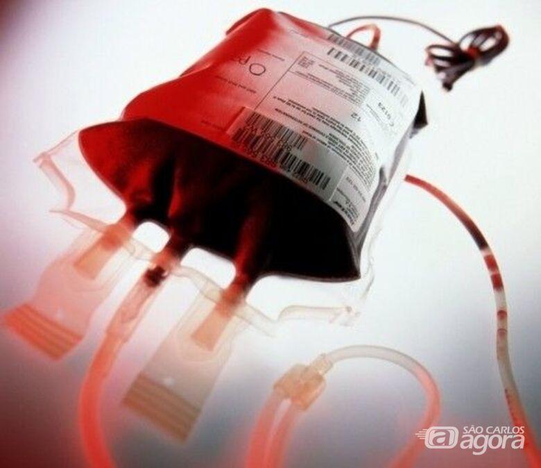 Banco de Sangue da Santa Casa necessita urgente de doadores com tipo sanguíneo O negativo e positivo - Crédito: Divulgação