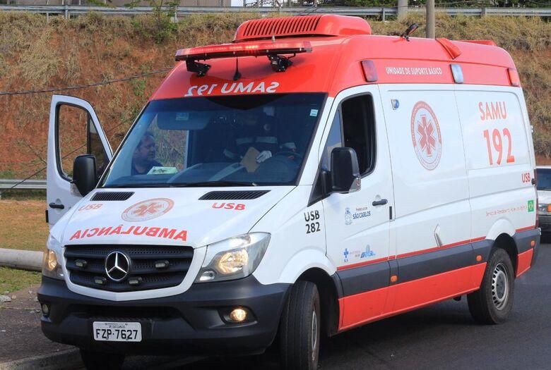 Após colisão, motociclista fica ferido no Aracy - Crédito: Arquivo/SCA