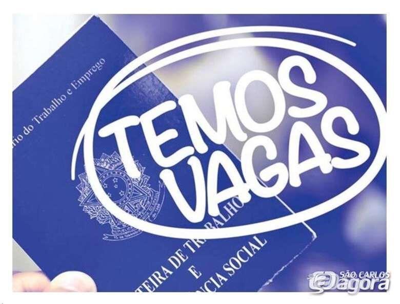 Balcão do São Carlos Agora oferece 20 vagas de emprego -