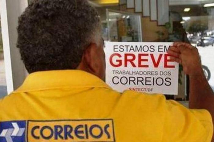 Funcionários dos Correios anunciam greve a partir desta quarta-feira - Crédito: Agência Brasil