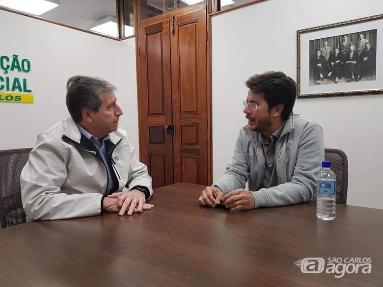 Vereador Daniel Lima visita Acisc e apresenta projeto da Semana do Empreendedorismo - Crédito: Divulgação