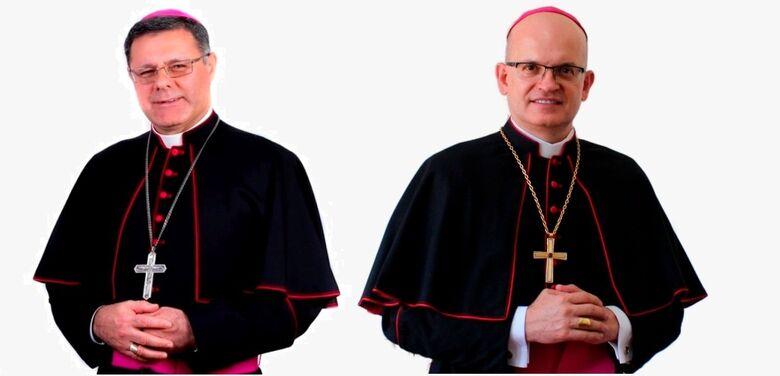 Bispos D. Paulo Cezar Costa e Dom Eduardo Malaspina receberão título de cidadania são-carlense - Crédito: Divulgação