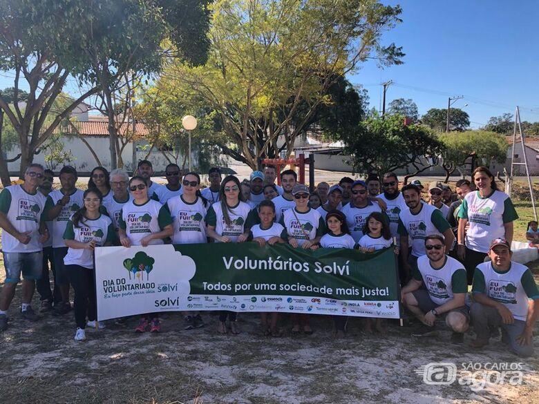 Malabim parabeniza e enaltece a realização do Dia do Voluntariado - Crédito: Divulgação