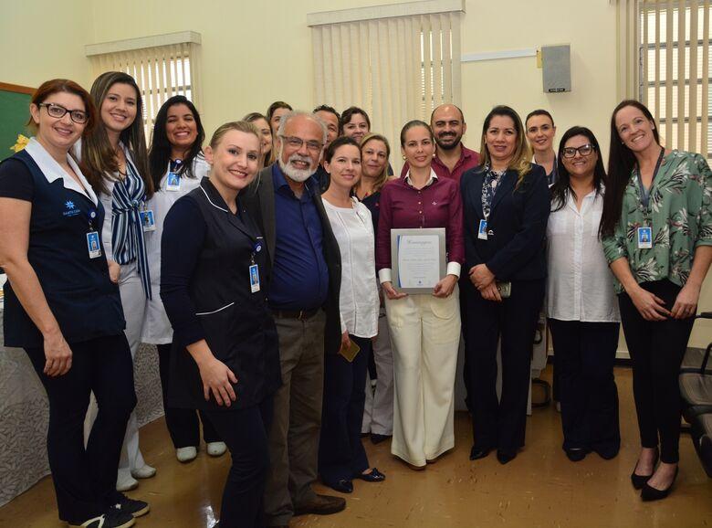 Presidência do Coren visita Santa Casa e propõe parceria para a valorização do profissional - Crédito: Divulgação