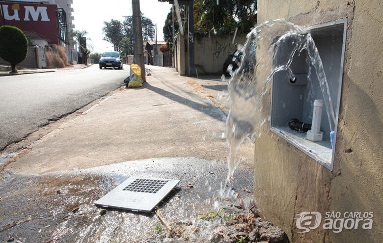 Ladrões voltam a furtar grande quantidade de hidrômetros em São Carlos -
