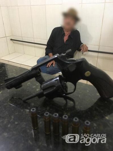 Homem é preso após ameaçar matar cachorros da sobrinha - Crédito: Luciano Lopes/São Carlos Agora