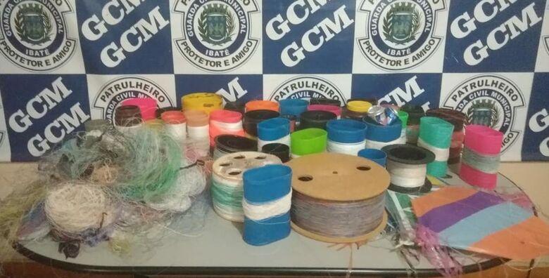 Guarda e Fiscalização Municipal intensificam ações contra uso do cerol em Ibaté - Crédito: Divulgação