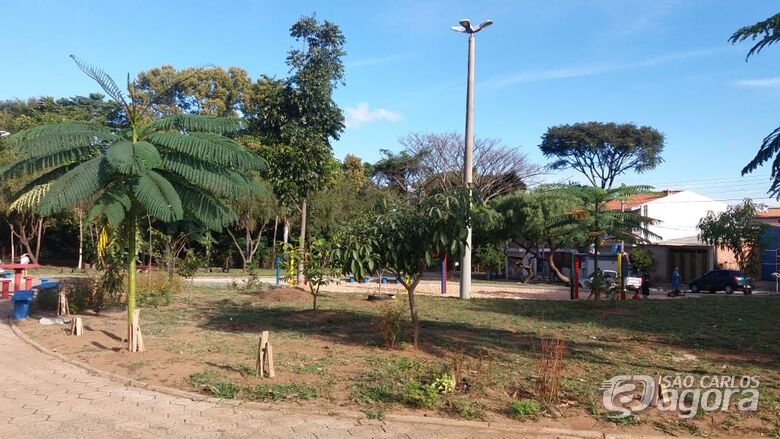 Prefeitura realiza reforma integral de praças e jardins - Crédito: Divulgação
