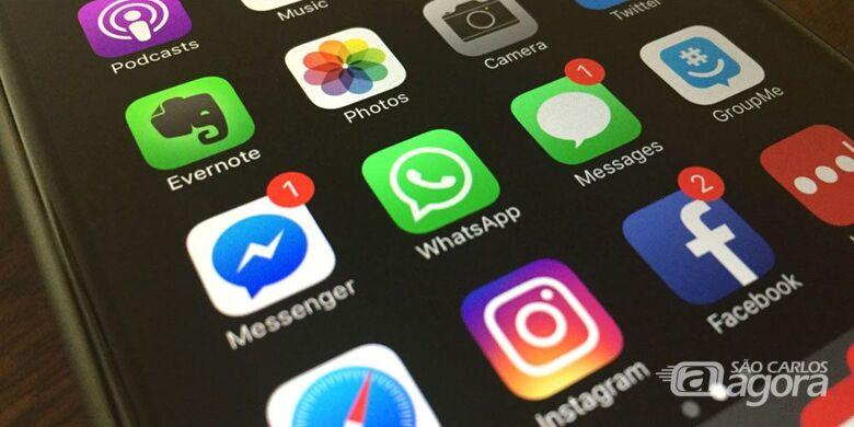 WhatsApp, Facebook e Instagram apresentam instabilidade - Crédito: Divulgação
