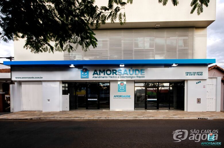 Clínica AmorSaúde inaugura e está aberta para a população São Carlense -