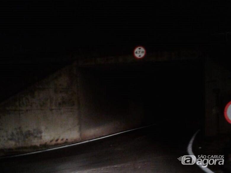 A pedido de Malabim, viadutos de acesso ao Jockey, Delta e Paulistano receberão iluminação - Crédito: Divulgação