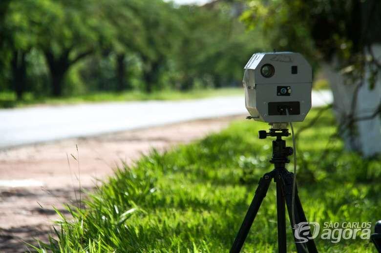 Locais de radares móveis nesta terça-feira - Crédito: Arquivo SCA