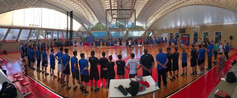 São-carlense participa de capacitação da NBA Basketball School em São Paulo - Crédito: Divulgação