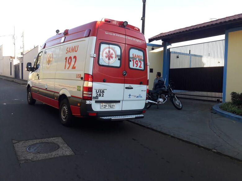 Motorista avança pare e provoca colisão no Américo Alves Margarido - Crédito: Maycon Maximino