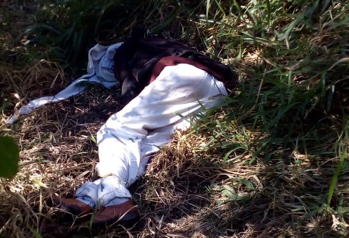 Mecânico é encontrado morto com mãos é pes amarrados - Crédito: Maycon Maximino
