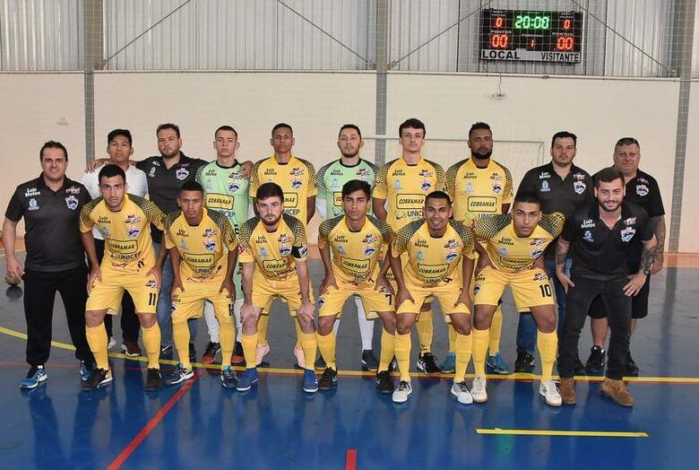 São Carlos Futsal perde para Brotas e se complica nos Regionais - Crédito: Miltinho Marchetti