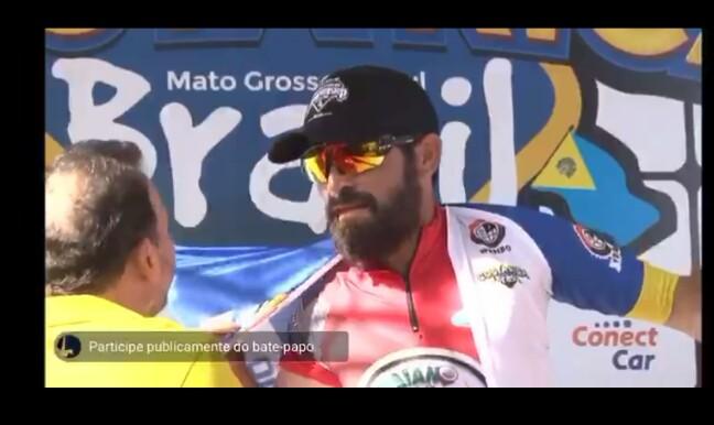 São-carlense é campeão no Mundial 24 Horas de Ciclismo - Crédito: Divulgação