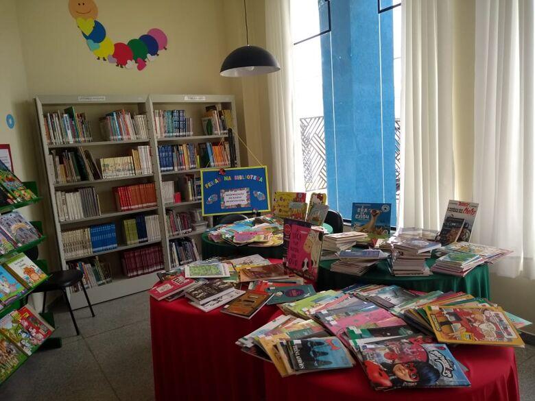 Julho trouxe novidades para o público infanto-juvenil da Biblioteca Municipal de Ibaté - Crédito: Divulgação