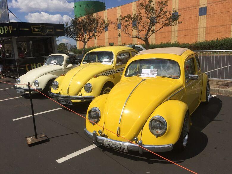 4ª Mostra de Carros Antigos no estacionamento do Iguatemi começa nesta sexta-feira - Crédito: Divulgação
