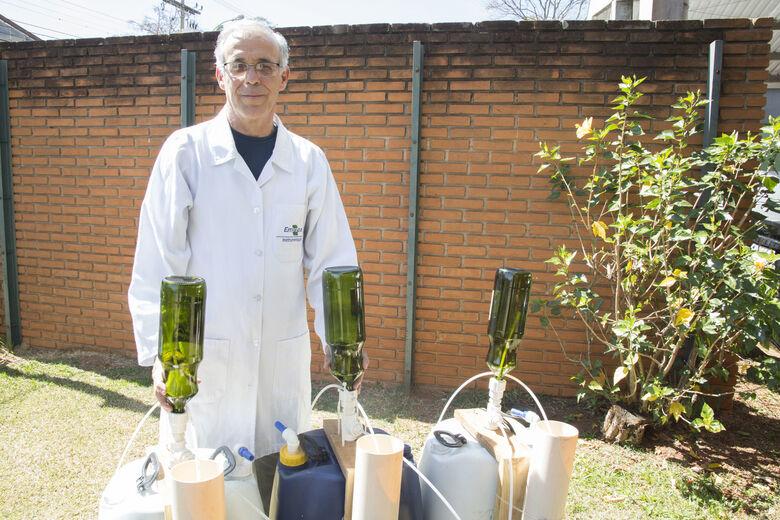 Escolas estaduais de São Carlos recebem Irrigador Solar - Crédito: Marina Deliperi
