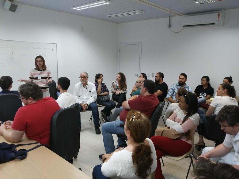 Hospital Universitário realiza ações com agentes da Saúde e do Programa Mais Médicos - Crédito: HU-UFSCar