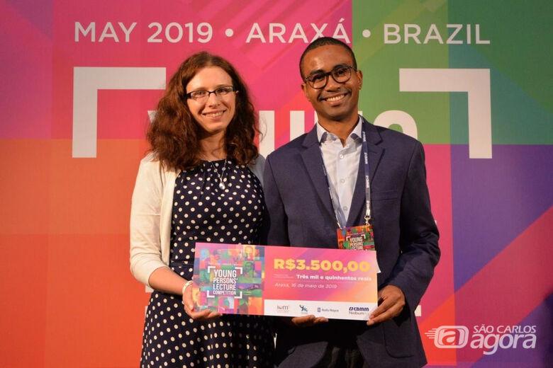 Doutorando da UFSCar representará o Brasil em competição internacional - Crédito: Divulgação