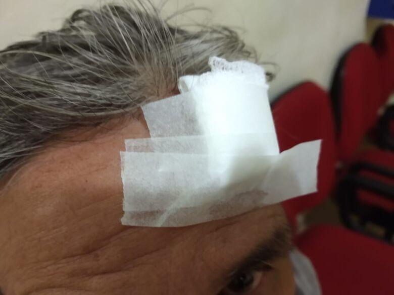 PM prende homem por agredir idoso de 71 anos pela segunda vez - Crédito: Luciano Lopes/São Carlos Agora