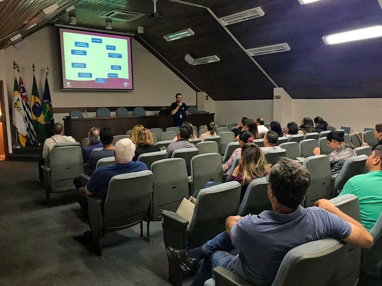 Acisc realiza palestra sobre fluxo de caixa e saúde financeira - Crédito: Divulgação