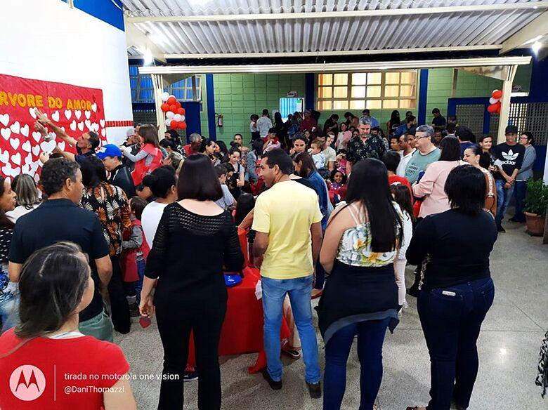 Jovina de Paula Pessente realiza Festa da Família para alunos e familiares - Crédito: Divulgação
