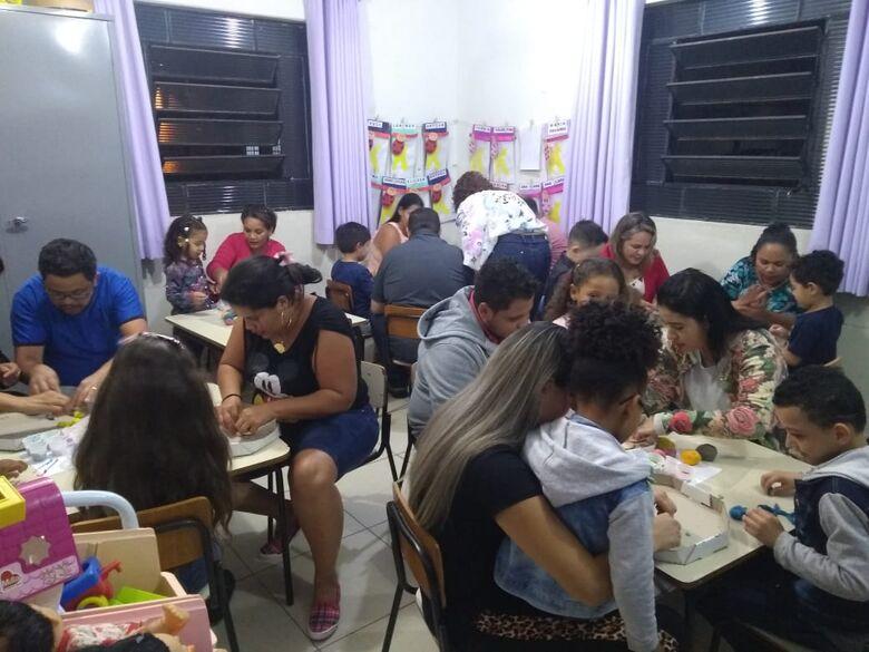 Solange Ap. Rodrigues realiza a Festa da Família para alunos da manhã e tarde - Crédito: Divulgação