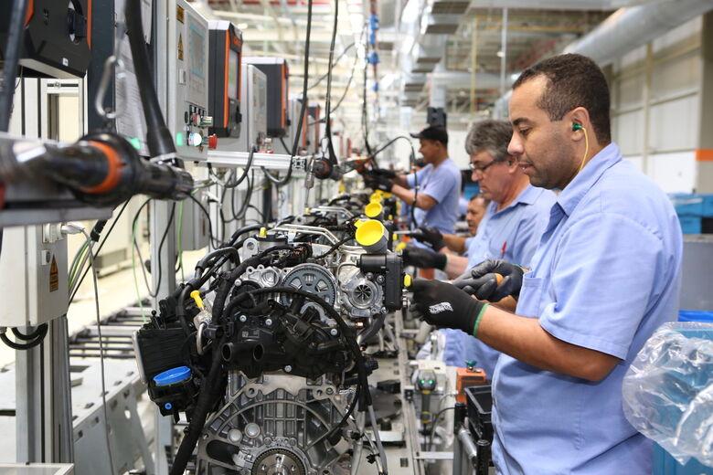 Fábrica da Volkswagen do Brasil em São Carlos exporta componente de motor para a Alemanha - Crédito: Divulgação