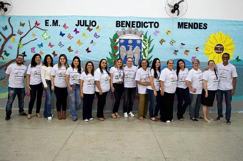 Escola Municipal Julio B. Mendes, em Ibaté, realiza Festa da Família - Crédito: Divulgação