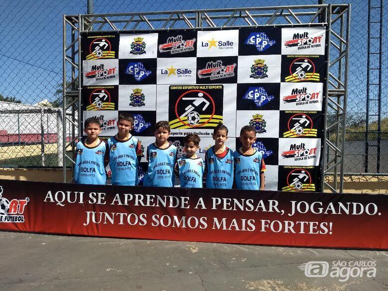 """Interno baby foot começa em """"alta voltagem"""" na Unidade Shopping da Mult Sport - Crédito: Divulgação"""