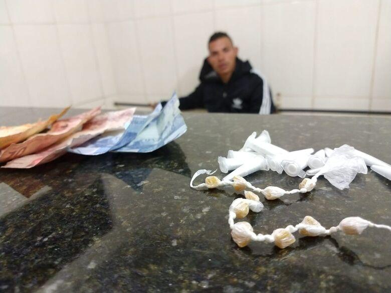Jovem é detido por tráfico de droga no Cidade Aracy - Crédito: Luciano Lopes/São Carlos Agora