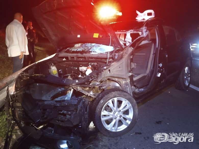 Morre motorista que bateu na traseira de caminhão na SP-318 - Crédito: Arquivo/SCA