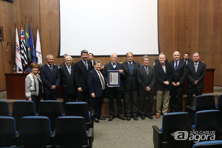 Câmara Municipal comemora os 70 anos do Ciesp São Carlos - Crédito: Divulgação