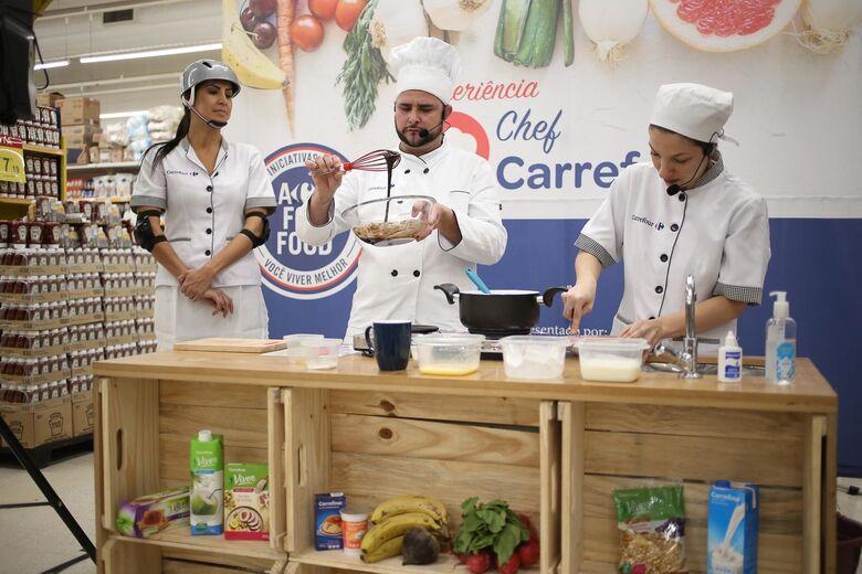 Oficinas culinárias do Chef Carrefour chegam a São Carlos - Crédito: Divulgação