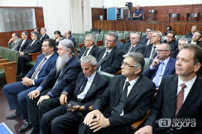Câmara entrega Prêmio Jesuíno de Arruda em solenidade no Dia do Maçom - Crédito: Divulgação