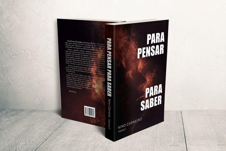Livro Para Pensar Para Saber será lançado no próximo sábado - Crédito: Divulgação
