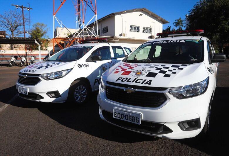 Polícia Militar de São Carlos recebe novas viaturas - Crédito: Divulgação