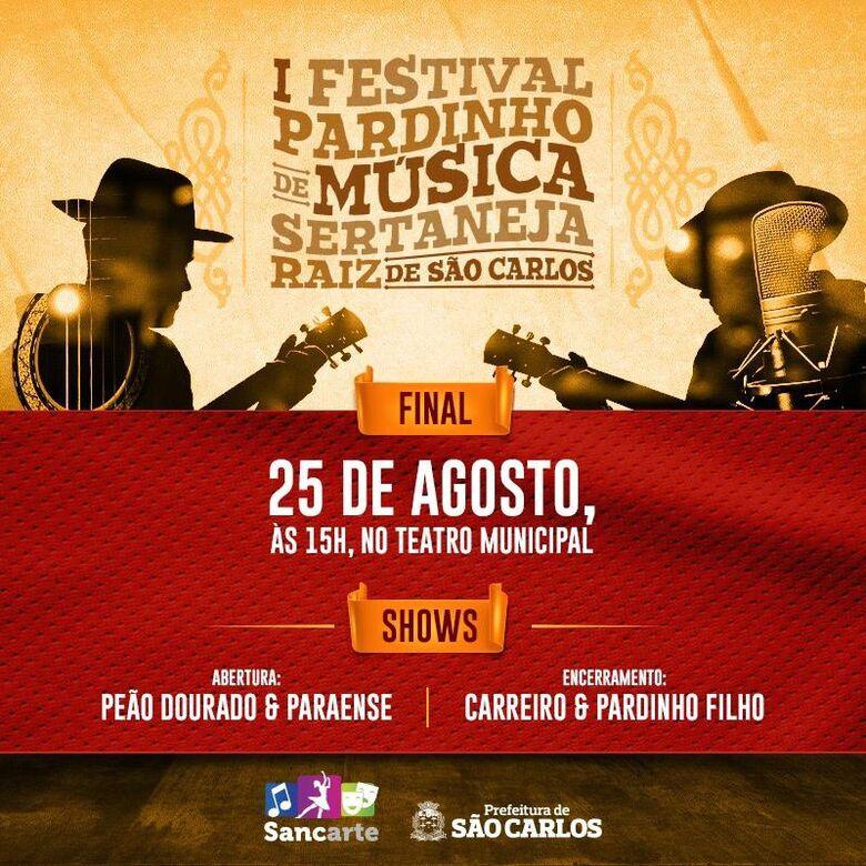 Domingo acontece a etapa final do Festival Pardinho -