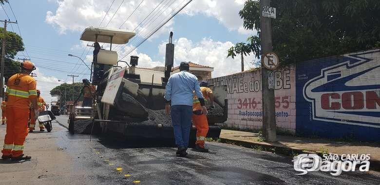 Veja quais ruas serão recapeadas nesta quarta-feira - Crédito: Divulgação