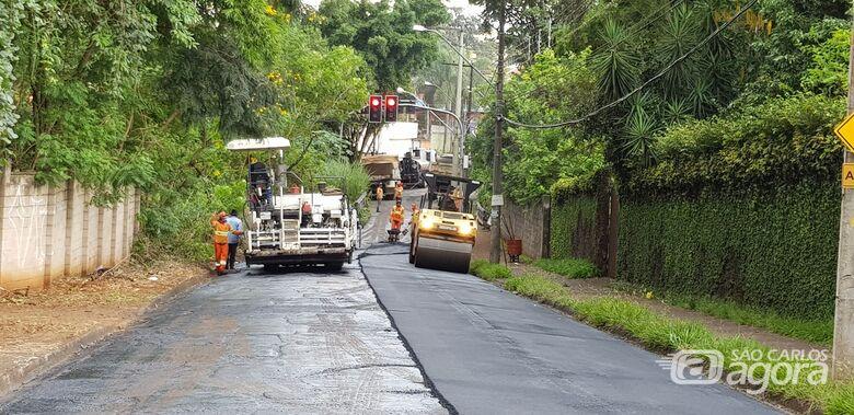 Confira as ruas que vão ser recapeadas nesta terça-feira em São Carlos - Crédito: Arquivo SCA