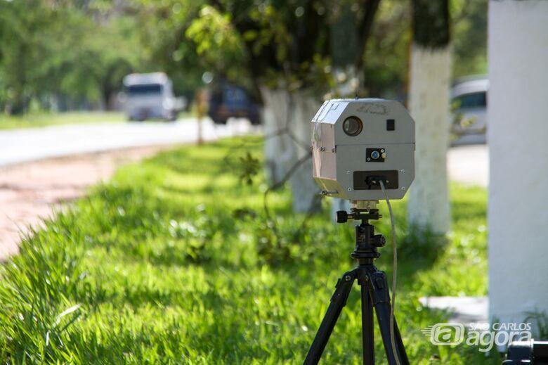 Confira a localização dos radares nesta segunda-feira -