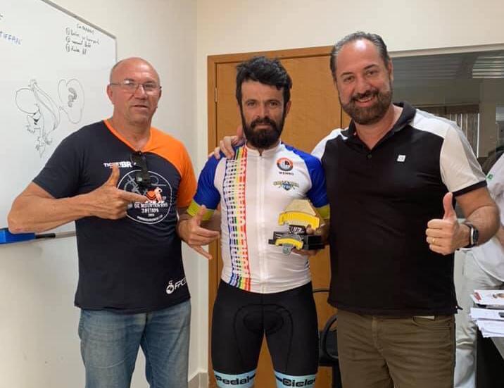 Ciclistas e amigos farão homenagem a campeão mundial - Crédito: Divulgação